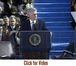 President William J. Clinton Inaugural Address 1997 —  Our Land of New Promise
