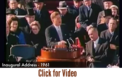 American Values – Excerpts from President John Fitzgerald Kennedy Speeches