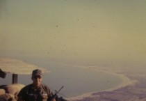 Marko on Qui Nhon Mountain.  He installed the first Air Force AN/TRC 97A from Quin Nhon to Tuy Hoa, South Vietnam