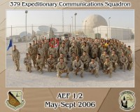 Marko with 379th Expeditionary Comm Sqdrn, May-Sep 2006