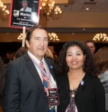 Marko and wife at the Hispanic Chamber of Commerce Political HobNob gathering