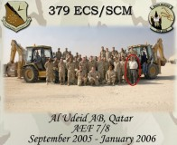 379th ECS/SCM Outside Plant work center with equipment and Marko